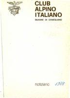 CAI_Notiziario_-_1978