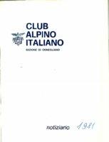 CAI_Notiziario_-_1981